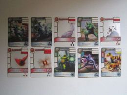 10 Cartes Redakai - Unclassified