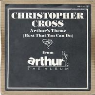 "7"" Single, Christopher Cross - Arthur's Theme - Disco, Pop"