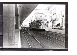 Photo Tram - Bruxelles - Molenbeek - Boulevard Léopold II  (1958) - Tranvía