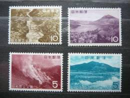Japan 1962 MNH #Mi.801/4 - Nuevos