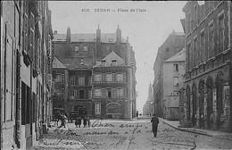 SEDAN -- Place De L'ISLE - CARTE RARE - Sedan