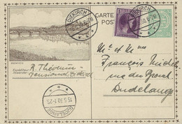 Luxembourg - Luxemburg - Carte-Postale - Postkarte  1930   Remich - Stamped Stationery