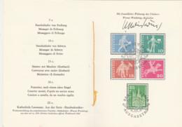 Schweiz- Postgeschichtliche Motive Und Baudenkmäler 1960 Mit Der Unterschrift Von Werner Weisskönig-Auflage 200 Stück !! - Covers & Documents