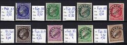Préoblitéré N° 87 à 93  Neufs **  TTB - 1893-1947