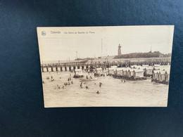 Oostende - Ostend - Strand - Plage - Vuurtoren - Strandcabines - Staketsel - Oostende