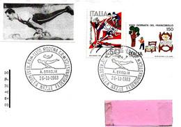 ITALIA - 1983 MODENA 69° Assemblea Federaz. Ginnastica E Ricordo Di ALBERTO BRAGLIA Olimpionico - 5318 - Gymnastiek