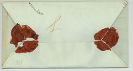 WIEN 1845 Nach Klosterneuburg WERTBRIEF Mehrfach Versiegelt Unterschrift Vizebürgermeister U. Pelikan - ...-1850 Prephilately
