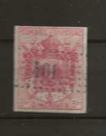 FISCAUX  FRANCE  DIMENSION N°11  3F Carmin Rose Cote 70€ - Fiscale Zegels