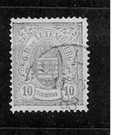 1880 USED Luxemburg Mi 40A - 1859-1880 Coat Of Arms