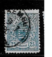 1880 USED Luxemburg Mi 43B - 1859-1880 Coat Of Arms
