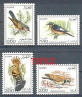 Année 1977-N°667/670 Neufs**MNH : Les Oiseaux- - Sperlingsvögel & Singvögel