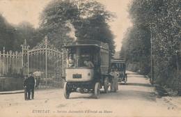 Etretat (76 - Seine Maritime) Service Automobile D'Étretat Au Havre - Omnibus - édit. EF N° 2 Circulée 1904 - Etretat