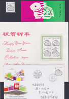 CHINA 1987, New Year Stamp Unmounted Mint + Stamp Booklet + Folder With 4-blocks FD-cancelled + Spec. Cover - Collections, Lots & Series