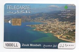 Zouk Mosbeh Used Phonecard 2010 Lebanon , Liban Telecarte  Libanon - Liban