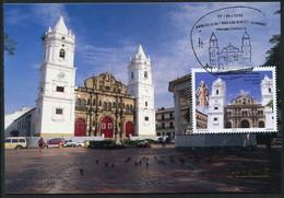 PANAMA (2019) Basílicas Menores, Catedral Basílica Santa María La Antigua, Cathedral, Cathédrale - Carte Maximum Card - Panama