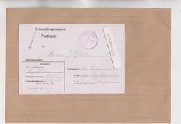 MARCOPHILIE - MILITARIA - COMPIEGNE - FRONTSTALAG 122, CAMP DE ROYALLIEU 1942 Corresp Pris Carte Lettre Imprimé En Allem - Oorlog 1939-45