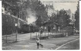 Aix-les-Bains - Gare Du Revard Et Hôtel Bernascon. - Aix Les Bains