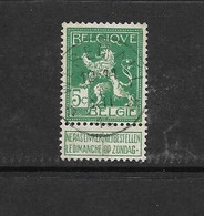 110° *Wesemael* (COBA  15) - 1912 Pellens