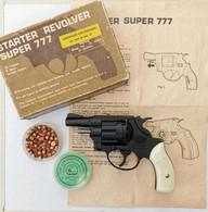 Revolver Starter Super 777 B - MAM - Cal. 22 / 6 Mm Blanc - Decorative Weapons