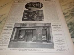 ANCIENNE PUBLICITE LES HEURES ELEGANTES LA MARQUISE DE SEVIGNE  1906 - Posters