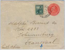40412  - ARGENTINA  - POSTAL HISTORY  -  Stationery COVER To TRANSVAAL !! Rare  ! 1902 - Postal Stationery