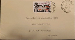 J) 1979 FRANCE, MUSIC, GUITAR, CIRCULATED COVER, FROM FRANCE TO NETHERLAND - Non Classificati