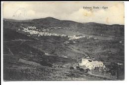 GREECE  , POSTCARD OF PATMOS SKALA - EGEO , 1935 . - Grèce