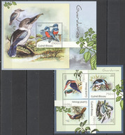 BC561 2012 GUINE GUINEA-BISSAU FAUNA BIRDS GUARDA-RIOS KB+BL MNH - Other
