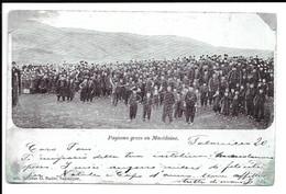 "MACEDONIA , POSTCARD "" PAYSANS GREES EN MACEDOINE "" , 1902 . - Macédoine"