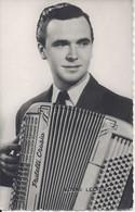 CPSM Louis Ledrich Musicien Accordéon Musette Variété Française - Music And Musicians