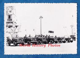 Photo Ancienne Snapshot - Port De BORDEAUX - Exposition De L'Armée - Militaire Sur Différente Jeep ? Hotchkiss ? - Auto - Coches