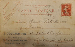 J) 1967 FRANCE, POSTCARD, POSTAL STATIONARY, CIRCULATED COVER, FROM FRANCE TO CARIBE - Non Classificati