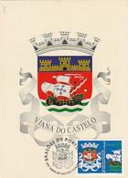 Portugal & Maximum Card, Viana Do Castelo, Brasões De Portugal, Viana Do Castelo 1998 (195) - Viana Do Castelo