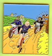 Gros Pin's BD Tintin (Chandail Noir) Cycliste Capitaine Haddock Tournesol Dupont Dupond - #619 - Comics