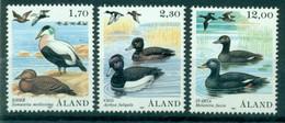 AALAND ISLANDS 1987 Mi 20-22** Birds [L3245] - Marine Web-footed Birds