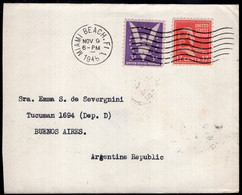 USA - 1945 - Letter - Sent To Argentina - A1RR2 - Covers & Documents