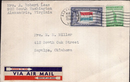 USA - 1944 - Letter - Air Mail - Sent To Argentina - A1RR2 - Covers & Documents