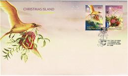 Christmas Island 2010 Christmas FDC - Christmaseiland