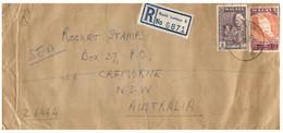 (V V 14)  Malaya Selengor Registered Cover Posted To Australia - 1961 - Selangor