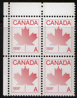 Canada - #907 - MNH Block Of 4 - Unused Stamps