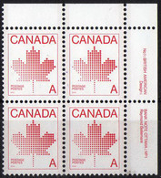 Canada - #907 - MNH Pblock Of 4 - Unused Stamps