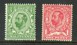 Great Britain MH 1911 King Edward Vll - Unused Stamps