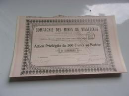 MINES DE VILLEBOEUF (saint Etienne,loire) 1912 - Unclassified