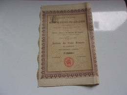 MINES DE CUIVRE DES ACHAICHES (1906) - Unclassified