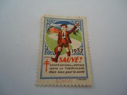 FRANCE  MINT VIGNETTES VICNETTE 1937 SAUVE - Non Classificati