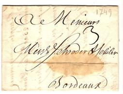 49723 - De PONS  1749 - 1701-1800: Vorläufer XVIII