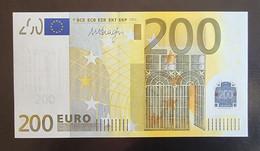 200 Euro Draghi E002 X05 UNC Germany - Bankfrisch - 200 Euro