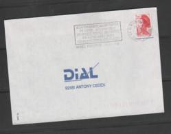 Flamme Dpt 44 : NANTES Préfecture Temporaire Non Illustrée De 1989 : Portes Ouvertes Chambre Des Notaires - 25 Nov 1989 - Mechanical Postmarks (Advertisement)