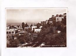 CPA PHOTO BEYROUT, , QUARTIER ST NICOLAS - Lebanon