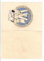 DDR 1951 ,  Amtliche Faltkarte Mit Nr 289-92 - Storia Postale